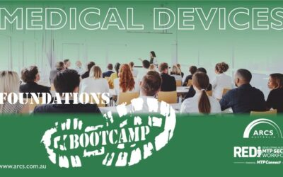 ARCS Foundation Bootcamp – Medical Devices: 16-17 August and 23-25 August, 2021.
